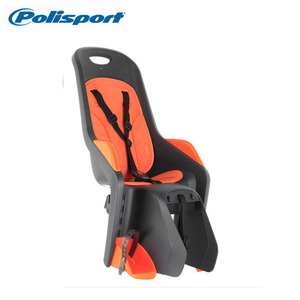 [Polisport/CFS/유아안장] POLISPORT BUBBLY MAXI®-CFS (DARK GREY/ORANGE)